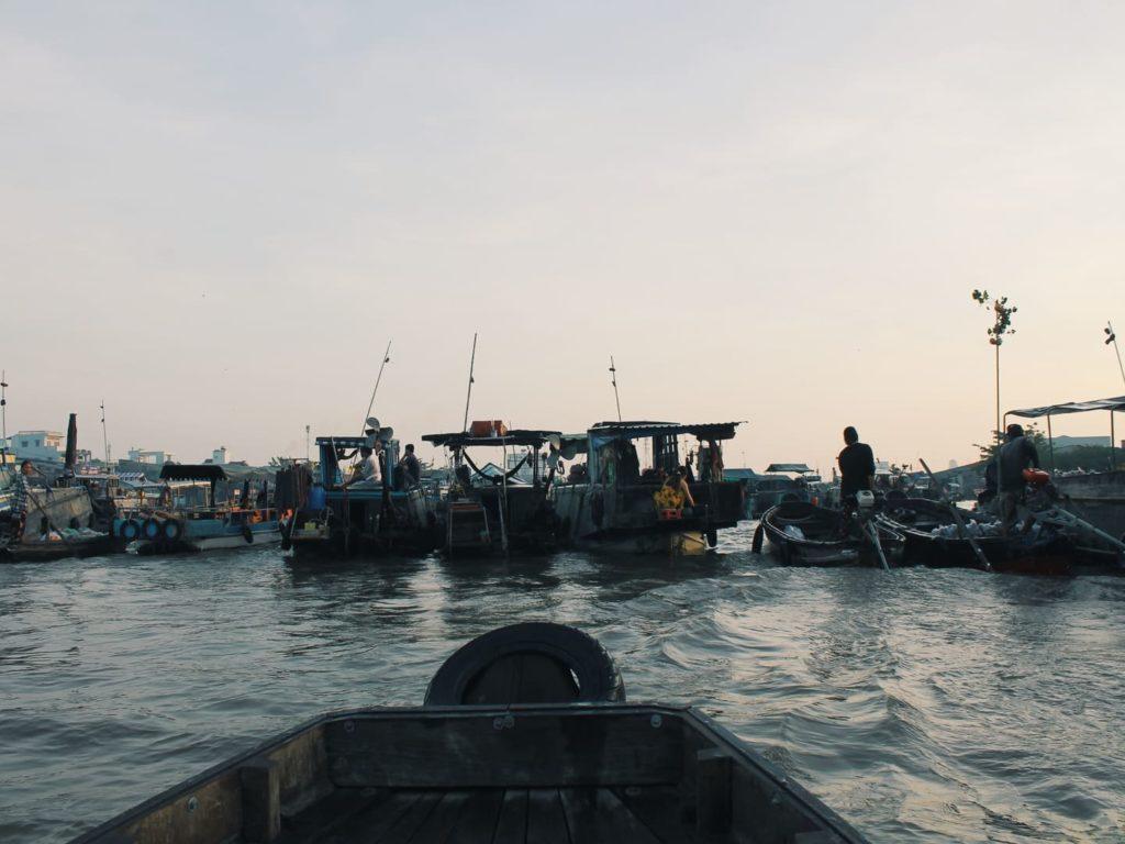 Mekong Delta Floating Markets | Vietnam Rundreise: Reisebericht, Reisetipps, Routen, Highlights, Reiseblog