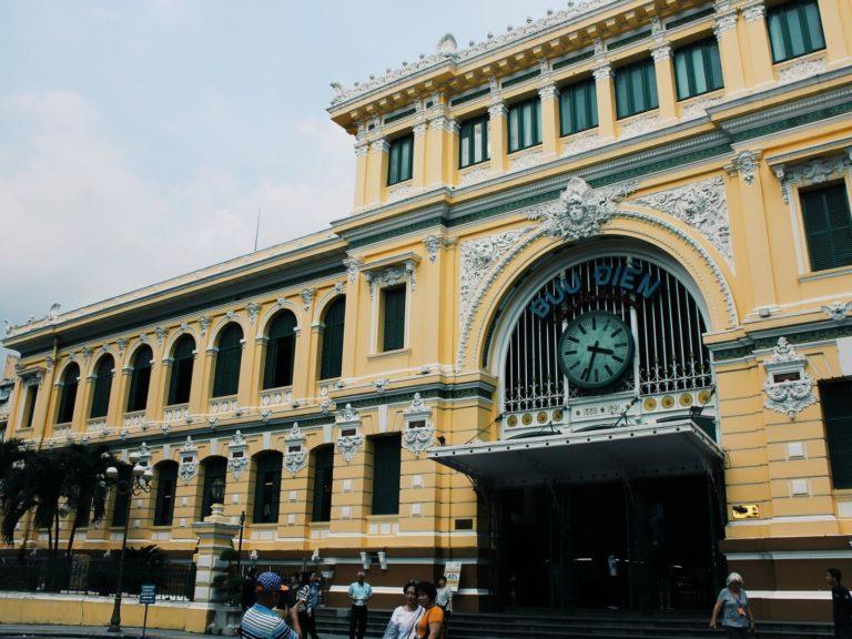 Postamt Ho Chi Minh | Vietnam Rundreise: Reisebericht, Reisetipps, Routen, Highlights, Reiseblog