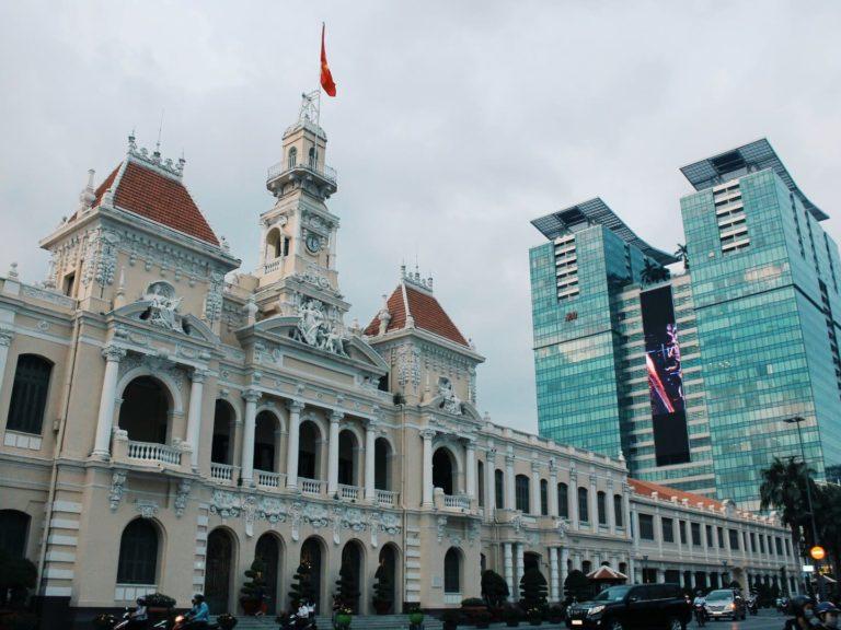 Rathaus von Ho-Chi-Minh