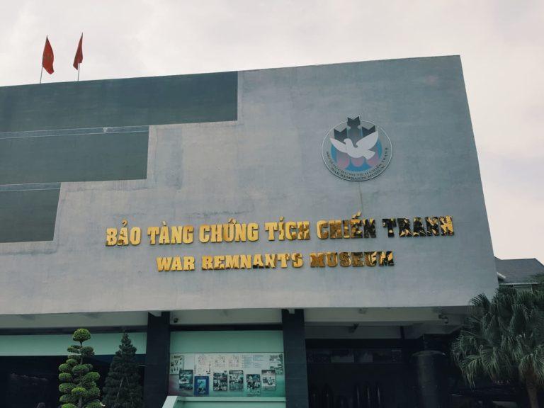 War Remnants Museum Ho-Chi-Minh| Vietnam Rundreise: Reisebericht, Reisetipps, Routen, Highlights, Reiseblog