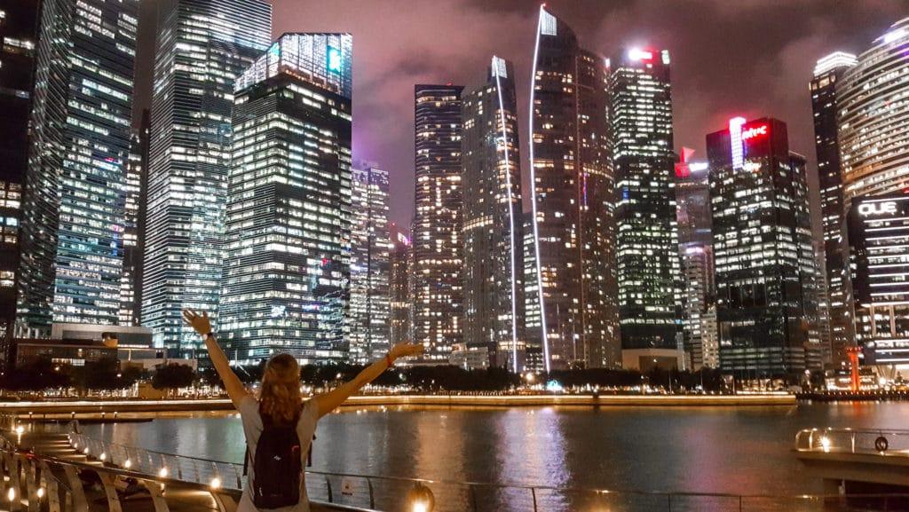 Skyline Singapur   Singapur: Reisetipps und Highlights