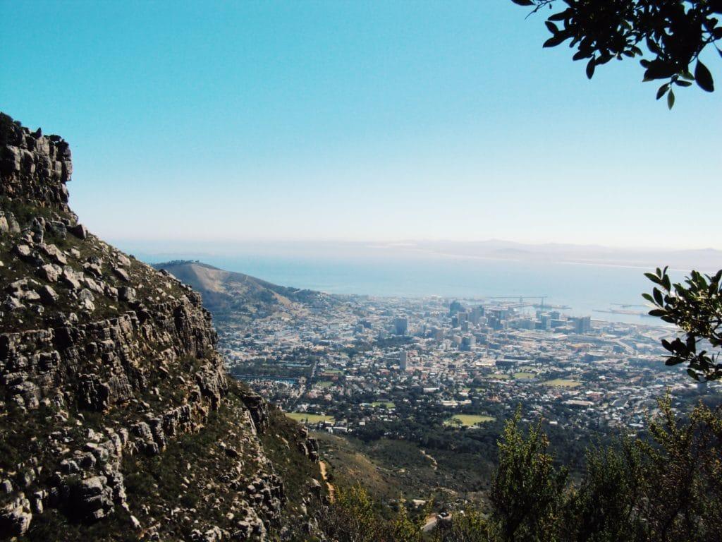 Aussicht Tafelberg | Südafrika Reiseblog: Rundreise, Highlights, Reisetipps