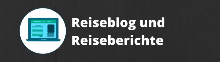 Reiseblog und Reiseberichte 1