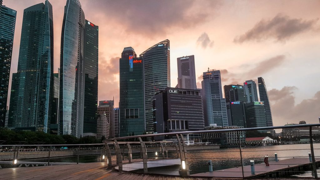 Skyline Singapur Marina Bay Sands   Toskana Rundreise: Reisebericht, Reisetipps, Routen, Highlights, Reiseblog