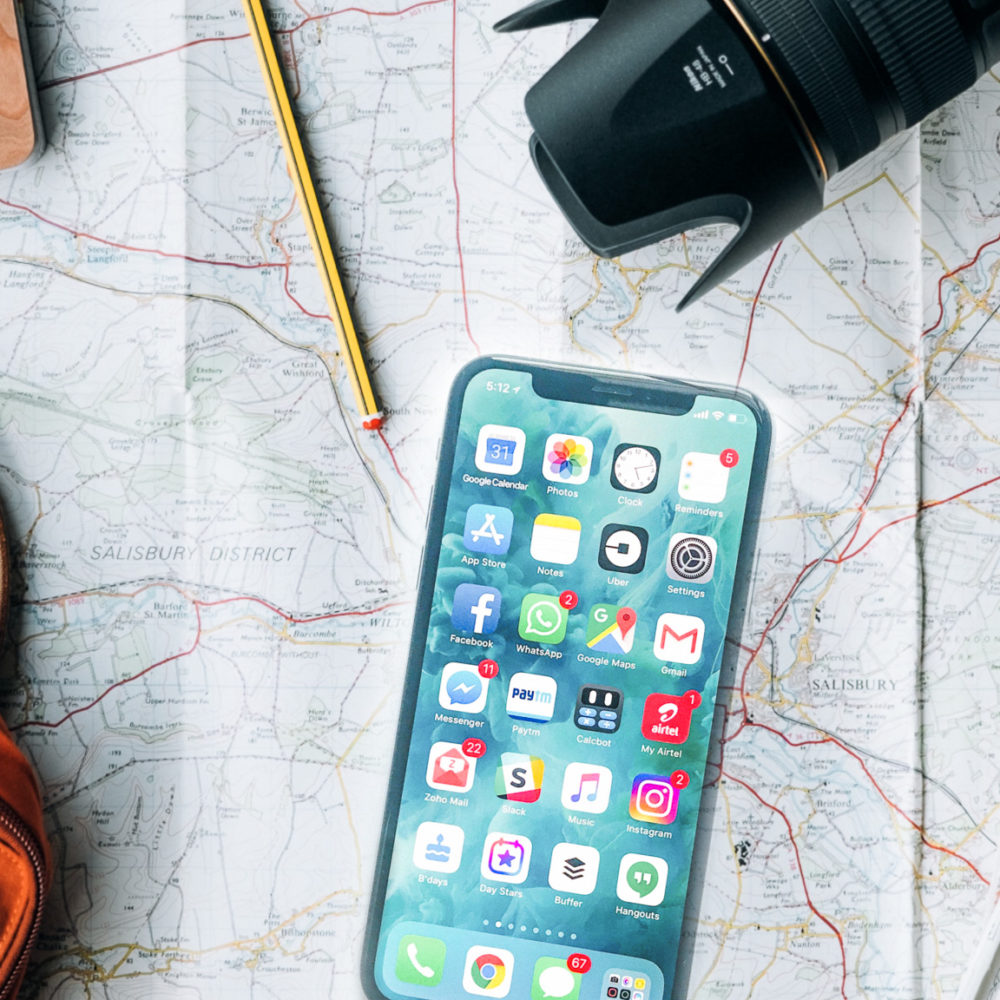 Die besten Apps auf Reisen