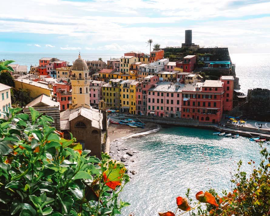 Vernazza Cinque Terre Italien