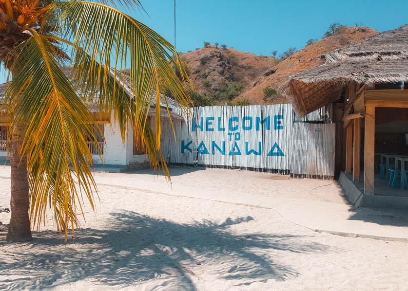 Kanawa Island im Komodo Nationalpark