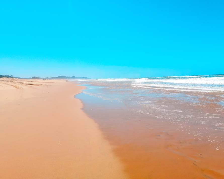 Strand von St. Lucia in KwaZulu Natal - Reisetipps