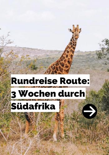 Rundreise Route: 3 Wochen durch Südafrika