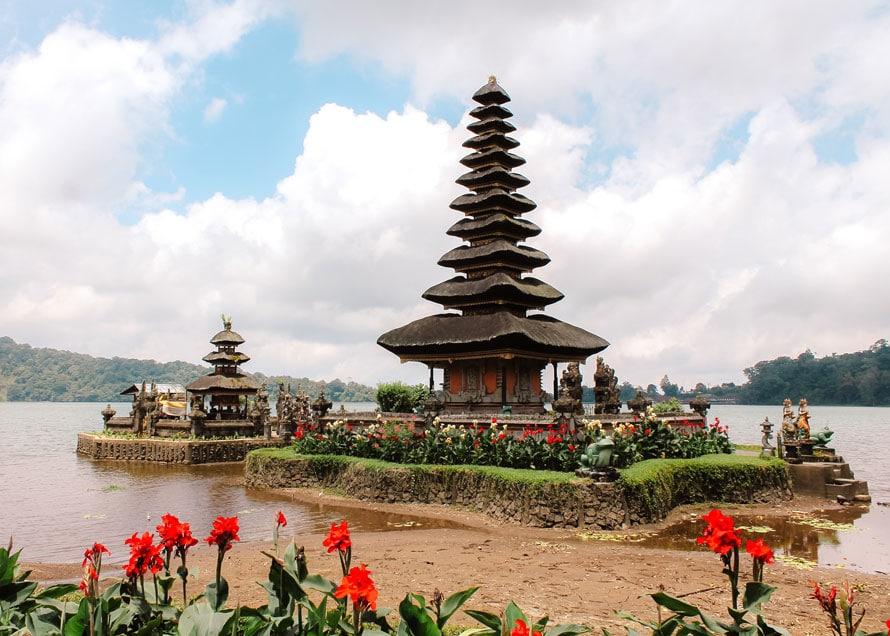 Der Tempel Ulun Danu Beratan Temple