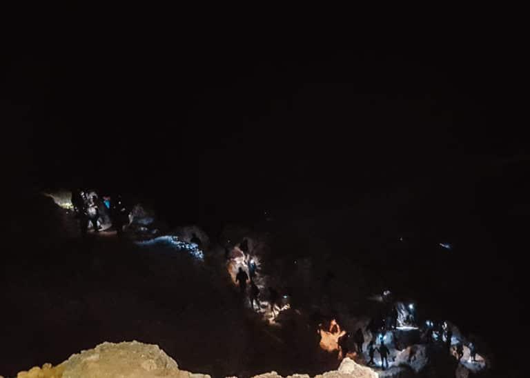 Wanderung in den Krater des Kawah Ijen
