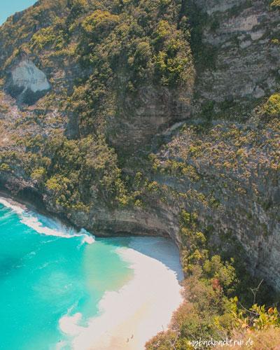 Kelingking Beach Nusa Penida Aussicht