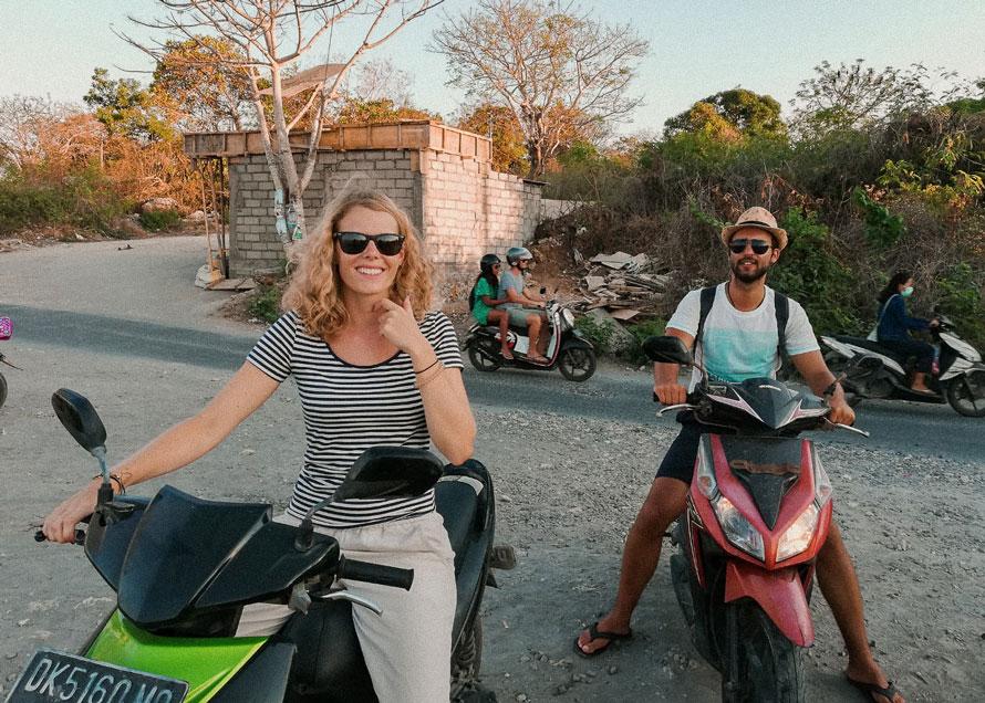 Motorroller Bali