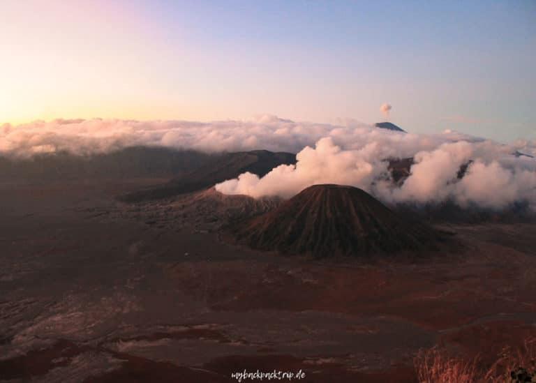 Mount Bromo Java Vulkan