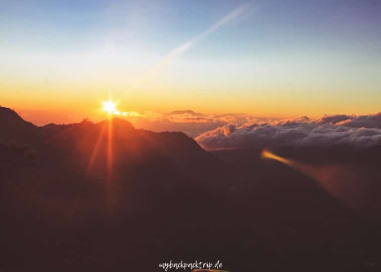 Sonnenaufgang vom King Kong Hill, Mount Bromo in Java