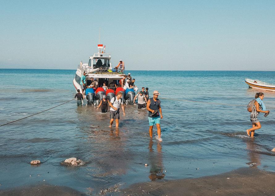 Nusa Lembongan Boot