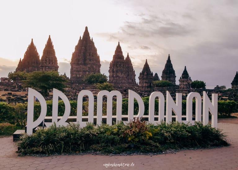 Prambanan Tempel Yogyakarta Java Rundreise