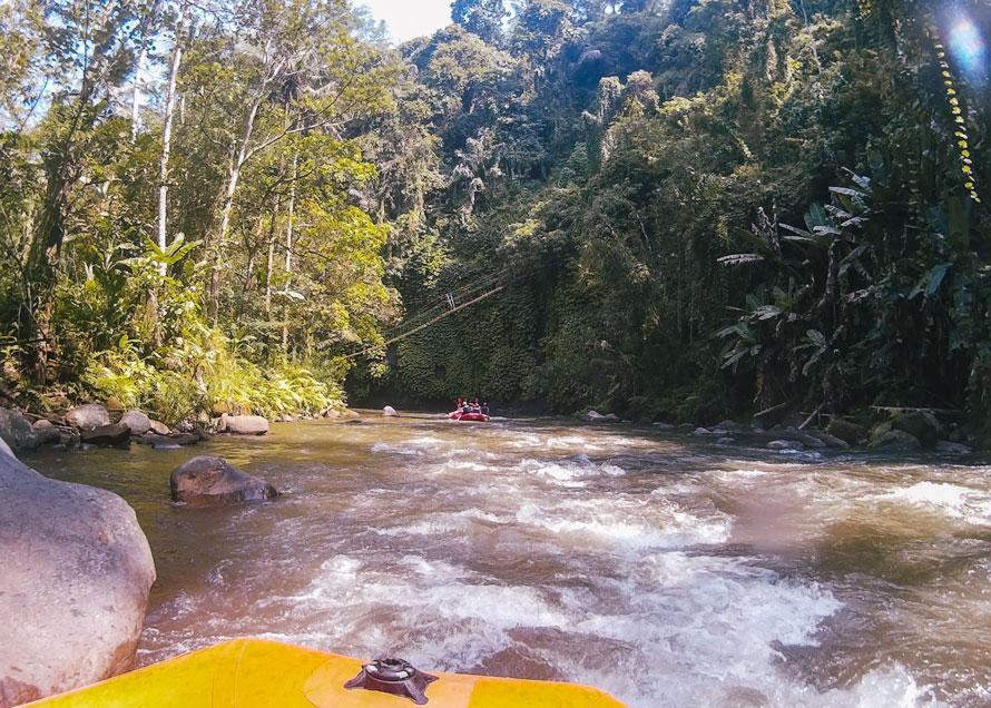 Rafting in Ubud