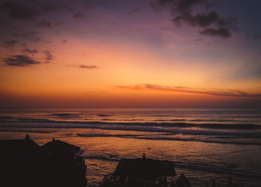 Sonnenuntergang in Uluwatu Bali