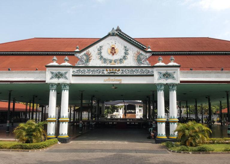 Sultans Palast Yogyakarta Java Sehenswuerdigkeiten