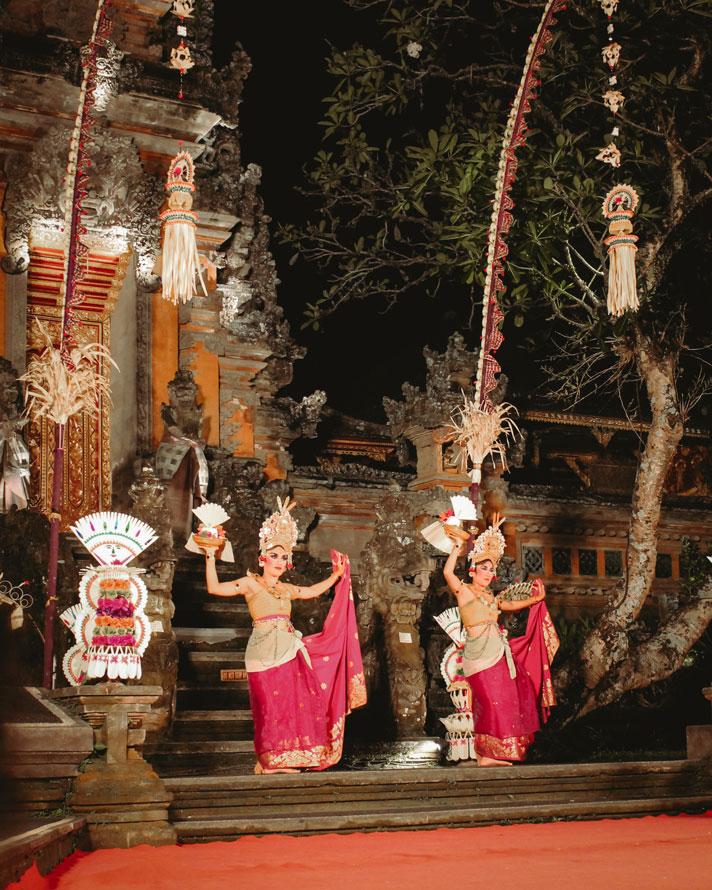 Kulturshow in Ubud, Bali