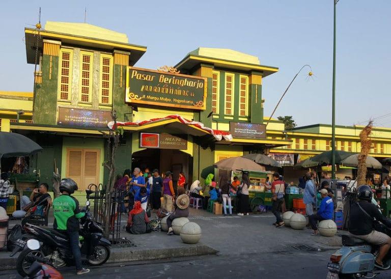 Stadtzentrum von Yogyakarta, Java