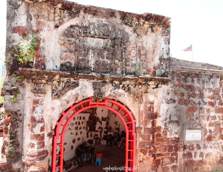A Famosa Festung Melaka Sehenswuerdigkeit 1