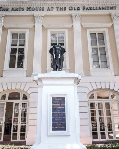 Arts House Singapur, Old Parliament