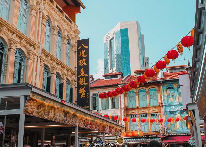 Chinatown Singapur Reisetipps Sehenswuerdigkeiten
