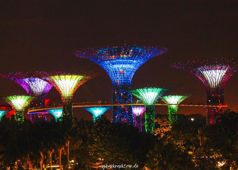 Gardens by the Bay Singapur Reisetipps Sehenswuerdigkeiten