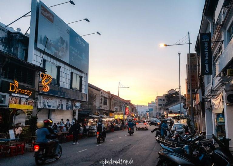 George Town Penang Reiseblog Highlights