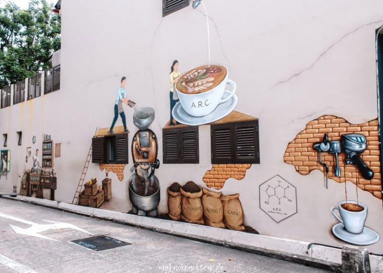 Streetart Kampong Glam: Singapur Highlights