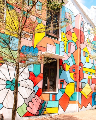 Melaka Street Art Reiseblog Reisetipps