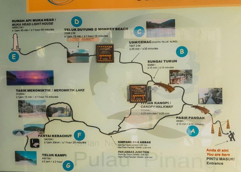 Penang Nationalpark Reisetipps Sehenswuerdigkeiten