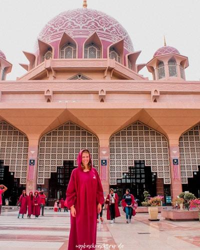 Pink Mosque in Putrayaja, Kuala Lumpur