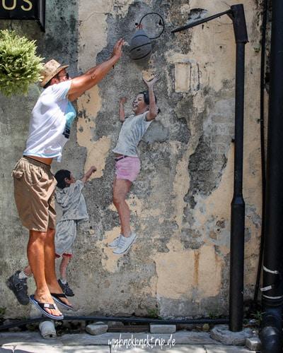Street Art George Town Penang Reiseblog Sehenswuerdigkeiten