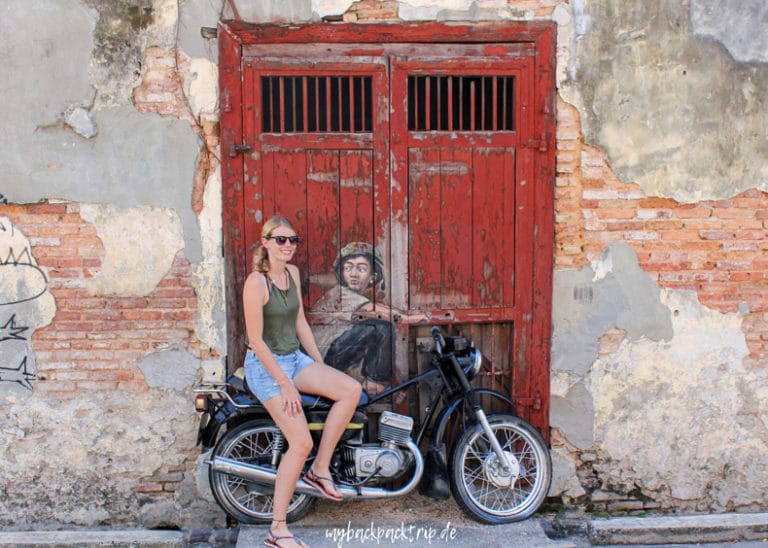Street Art George Town Penang Reisetipps Highlights