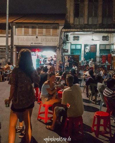 Streetfood George Town Penang Reiseblog