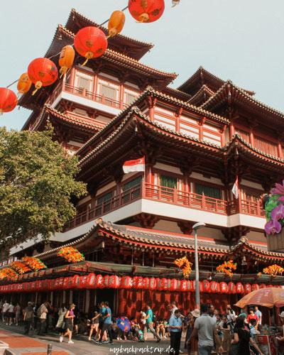Tempel Chinatown Singapur Reisetipps Sehenswuerdigkeiten