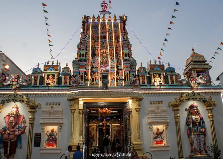 Tempel George Town Sehenswuerdigkeiten Reiseblog