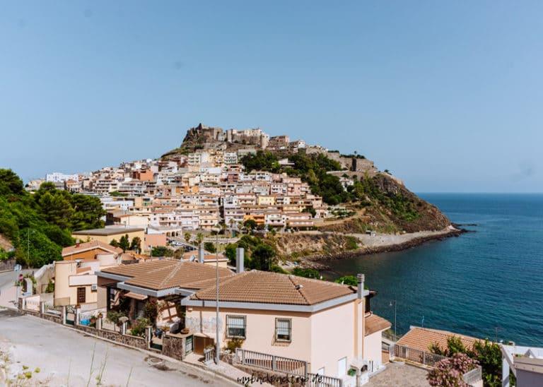 Castelsardo Sardinien Rundreise 1