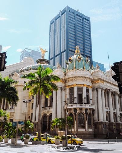 Rio de Janeiro Gasse Altstadt Zentrum bunte Haeuser Reiseblog 2