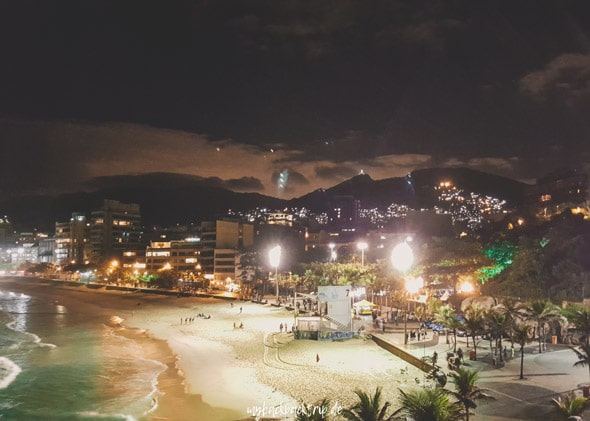 Rio de Janeiro Nacht Promenade Reisetipps