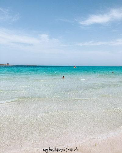 Stintino Beach Sardinien Urlaub Roadtrip 1