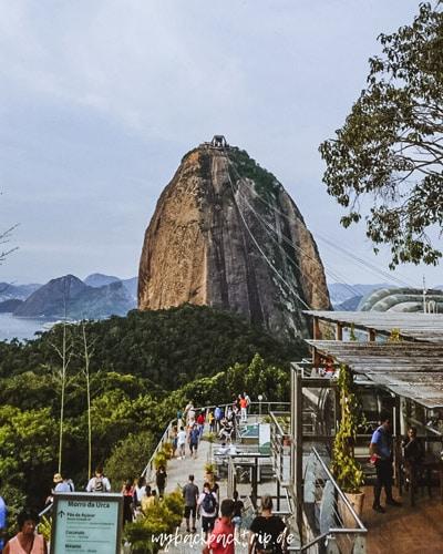 Zuckerhut Rio de Janeiro Sehenswuerdigkeiten