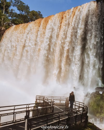 Iguazu Wasserfaelle Argentinien Brasilien 2