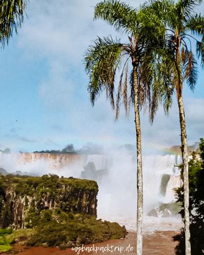Iguazu Wasserfaelle Argentinien Brasilien