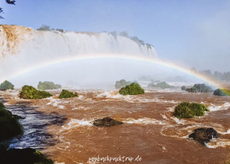 Iguazu Wasserfaelle Brasilien Rundreise