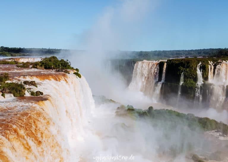 Iguazu Wasserfaelle Tipps