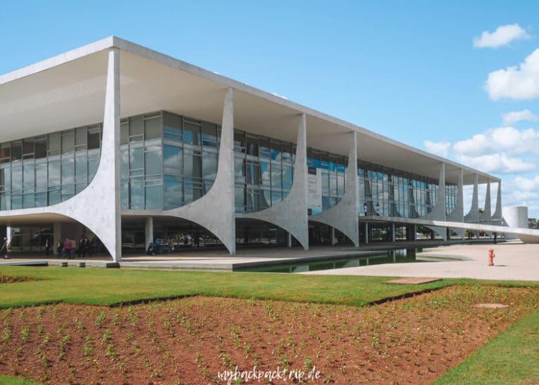 Palacio da Alvorada Brasilia Reisetipps